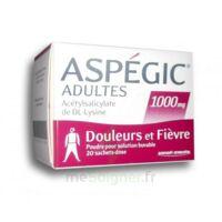 Aspegic Adultes 1000 Mg, Poudre Pour Solution Buvable En Sachet-dose 20 à  ILLZACH