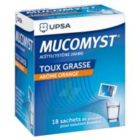Mucomyst 200 Mg Poudre Pour Solution Buvable En Sachet B/18 à  ILLZACH