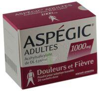 Aspegic Adultes 1000 Mg, Poudre Pour Solution Buvable En Sachet-dose 15 à  ILLZACH