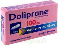 Doliprane 100 Mg Suppositoires Sécables 2plq/5 (10) à  ILLZACH