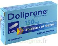 Doliprane 150 Mg Suppositoires 2plq/5 (10) à  ILLZACH