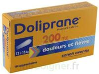 Doliprane 200 Mg Suppositoires 2plq/5 (10) à  ILLZACH
