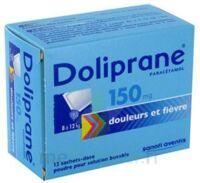 Doliprane 150 Mg Poudre Pour Solution Buvable En Sachet-dose B/12 à  ILLZACH
