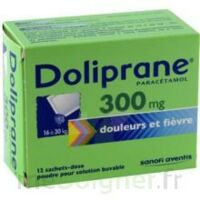 Doliprane 300 Mg Poudre Pour Solution Buvable En Sachet-dose B/12 à  ILLZACH