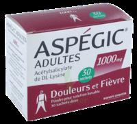 Aspegic Adultes 1000 Mg, Poudre Pour Solution Buvable En Sachet-dose 30 à  ILLZACH