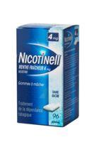Nicotinell Menthe Fraicheur 4 Mg Sans Sucre, Gomme à Mâcher Médicamenteuse 8plq/12 à  ILLZACH