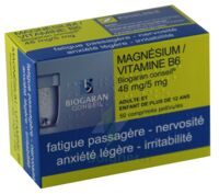 Magnesium/vitamine B6 Biogaran Conseil 48 Mg/5 Mg, Comprimé Pelliculé à  ILLZACH