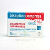 Biseptinecompress Compressses Impregnees, Bt 8 à  ILLZACH