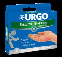 Urgo Brulures-blessures Petit Format X 6 à  ILLZACH