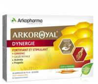 Arkoroyal Dynergie Ginseng Gelée Royale Propolis Solution Buvable 20 Ampoules/10ml à  ILLZACH