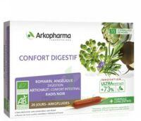 Arkofluide Bio Ultraextract Solution Buvable Confort Digestif 20 Ampoules/10ml à  ILLZACH