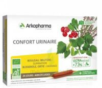 Arkofluide Bio Ultraextract Solution Buvable Confort Urinaire 20 Ampoules/10ml à  ILLZACH