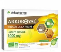 Arkoroyal Gelée Royale Bio 1000 Mg Solution Buvable 20 Ampoules/10ml à  ILLZACH