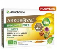 Arkoroyal Immunité Fort Solution Buvable 20 Ampoules/10ml à  ILLZACH