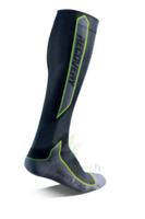 Recovery Chaussettes  Mixte Classe  Noir/vert Medium 43-46 à  ILLZACH