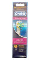 Brossette De Rechange Oral-b Floss Action X 3 à  ILLZACH