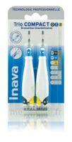 Inava Brossettes Tri Compact étroit  012 Noir 0,6mm/ Bleu 0,8mm/ Jaune 1mm à  ILLZACH