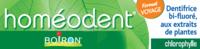 Boiron Homéodent Soin Complet Dents Et Gencives Pâte Dentifrice Chlorophylle Format Voyage T/25ml à  ILLZACH