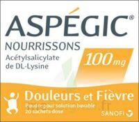 Aspegic Nourrissons 100 Mg, Poudre Pour Solution Buvable En Sachet-dose à  ILLZACH