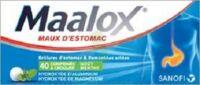 Maalox Hydroxyde D'aluminium/hydroxyde De Magnesium 400 Mg/400 Mg Cpr à Croquer Maux D'estomac Plq/40 à  ILLZACH