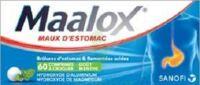 Maalox Hydroxyde D'aluminium/hydroxyde De Magnesium 400 Mg/400 Mg Cpr à Croquer Maux D'estomac Plq/60 à  ILLZACH