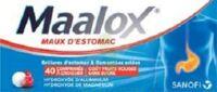 Maalox Maux D'estomac Hydroxyde D'aluminium/hydroxyde De Magnesium 400 Mg/400 Mg Sans Sucre Fruits Rouges, Comprimé à Croquer édulcoré à La Saccharine Sodique, Au Sorbitol Et Au Maltitol à  ILLZACH