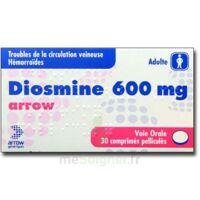 Diosmine Arrow 600 Mg, Comprimé Pelliculé à  ILLZACH