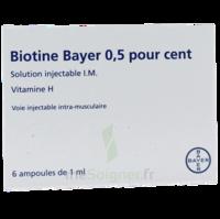 Biotine Bayer 0,5 Pour Cent, Solution Injectable I.m. à  ILLZACH