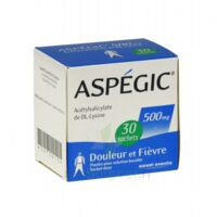 Aspegic 500 Mg, Poudre Pour Solution Buvable En Sachet-dose 30 à  ILLZACH