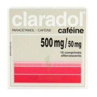 Claradol Cafeine 500 Mg/50 Mg, Comprimé Effervescent à  ILLZACH