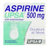 Aspirine Upsa 500 Mg, Comprimé Effervescent à  ILLZACH