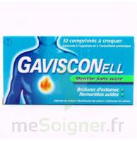 Gavisconell Coprimés à Croquer Sans Sucre Menthe édulcoré à L'aspartam Et à L'acésulfame Potas Plq/24 à  ILLZACH