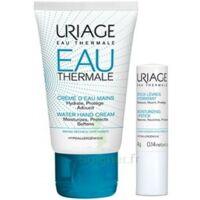Uriage Eau Thermale Crème D'eau Mains T/30ml+stick Lèvres à  ILLZACH
