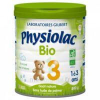 Physiolac Lait Bio 3eme Age 900g à  ILLZACH