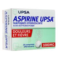 Aspirine Upsa Tamponnee Effervescente 1000 Mg, Comprimé Effervescent à  ILLZACH