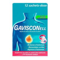 Gavisconell Suspension Buvable Sachet-dose Menthe Sans Sucre 12sach/10ml à  ILLZACH