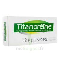 Titanoreine Suppositoires B/12 à  ILLZACH