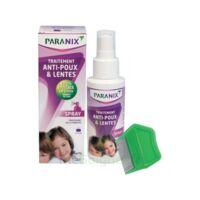 Paranix Solution Antipoux Huiles Essentielles 100ml+peigne à  ILLZACH
