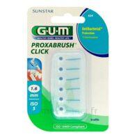 Gum Proxabrush Click, 1,6 Mm, Bleu , Blister 6 à  ILLZACH