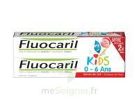 Fluocaril Kids Gel Dentifrice Fraise 0/6ans 2*50ml à  ILLZACH