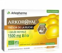 Arkoroyal Gelée Royale Bio 1500 Mg Solution Buvable 20 Ampoules/10ml à  ILLZACH