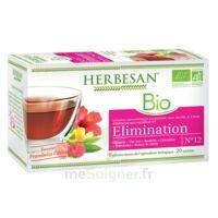 Herbesan Hibiscus Bio Tisane élimination 20 Sachets à  ILLZACH