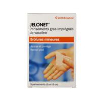 Jelonet, 5 Cm X 5 Cm , Bt 5 à  ILLZACH