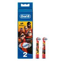 Oral B Incredibles 2 Brossette Kids Blister/2 à  ILLZACH