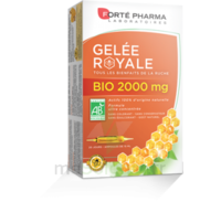 Forte Pharma Gelée Royale Bio 2000 Mg Solution Buvable 20 Ampoules/15ml à  ILLZACH