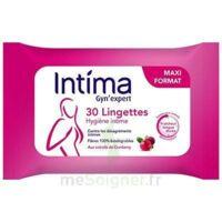 Intima Gyn'expert Lingettes Cranberry Paquet/30 à  ILLZACH