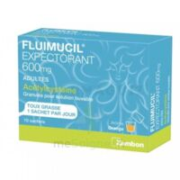Fluimucil Expectorant Acetylcysteine 600 Mg Glé S Buv Adultes 10sach à  ILLZACH