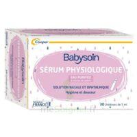 Babysoin Solution Sérum Physiologique 30 Unidoses/5ml à  ILLZACH