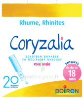 Boiron Coryzalia Solution Buvable Unidose B/20 à  ILLZACH