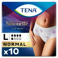 Tena Lady Silhouette Slip Absorbant Blanc Normal Large Paquet/10 à  ILLZACH